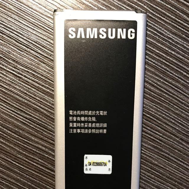 三星note4原廠電池