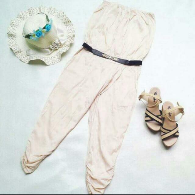 Off-White Tube Jumpsuit