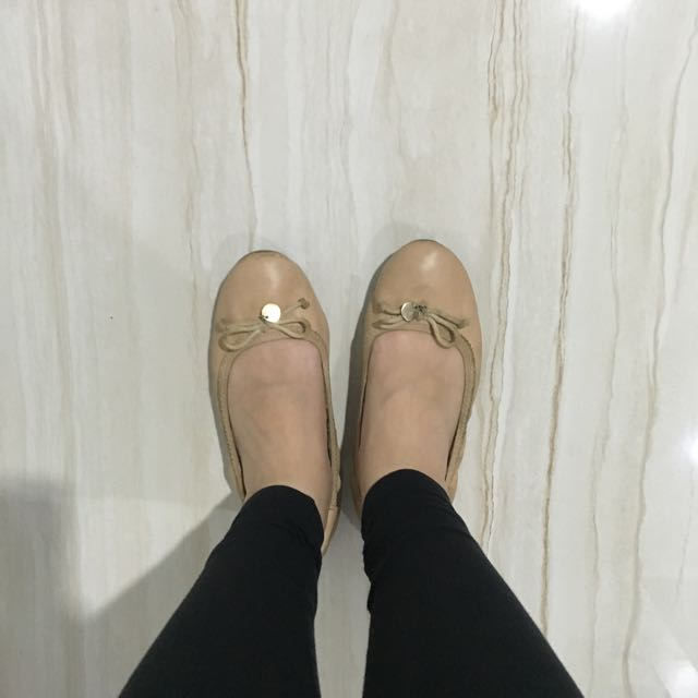 Payless Nude Flats