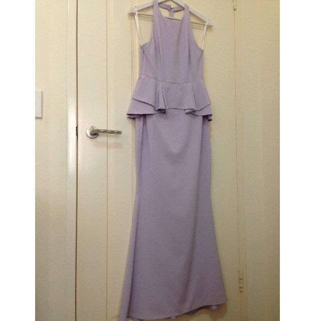 Peplum Lilac Dress