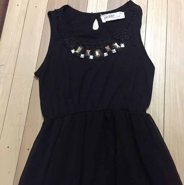 pe:tite Semi Long Dress