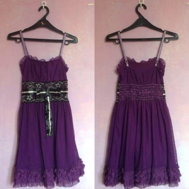 [PRELOVED] Mini Purple Tutu Dress