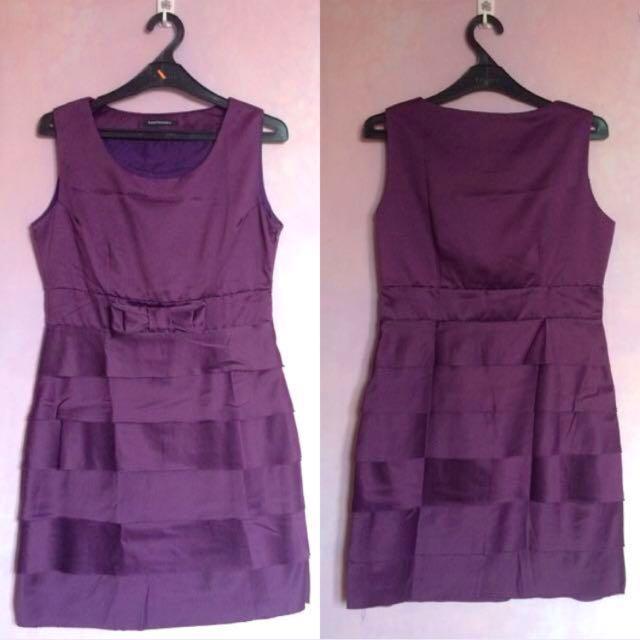[PRELOVED] Raspberry Purple Mini Dress