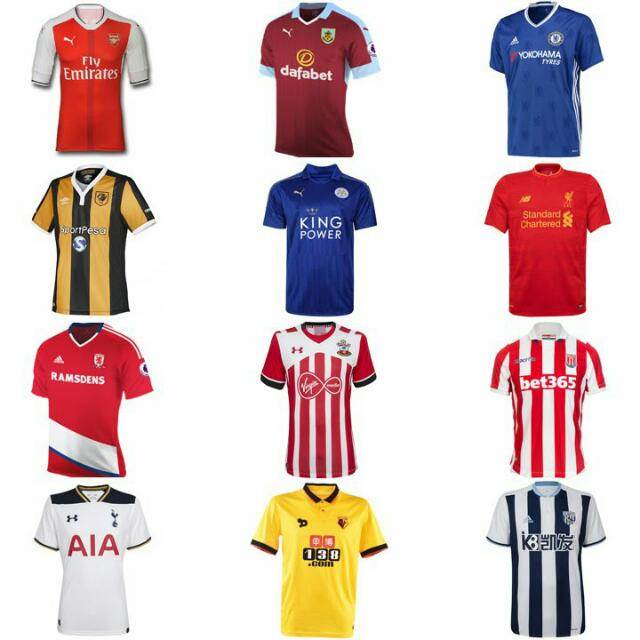 new products 02fc9 f7353 Premier League Jerseys Ori Grade Printing Services Provided Deposit  Required Collection On 30th Jan