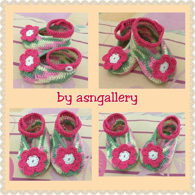 Prewalker Pelangi Bunga Pink