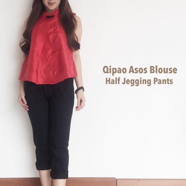 Qipao Asos Blouse Atasan