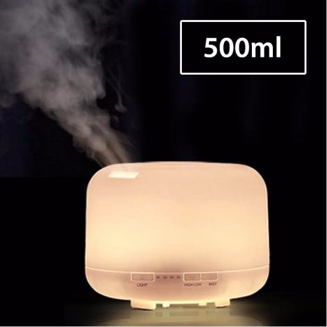 [Ready Stock] Large 500ml Muji Style Inspired Ultrasonic Air Humidifier Aroma Diffuser