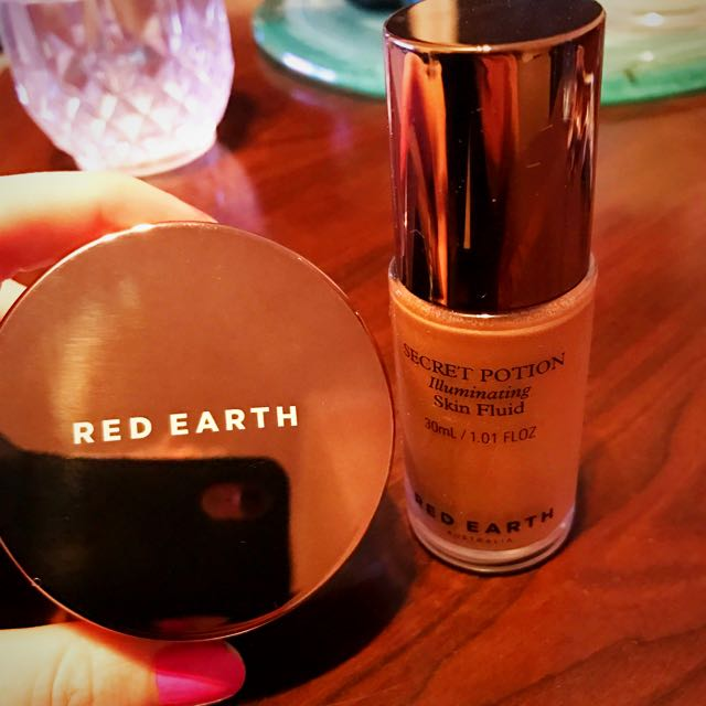 Red Earth Secret Potion Illuminating Products