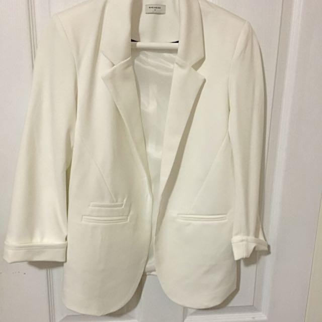 Small White Blazer