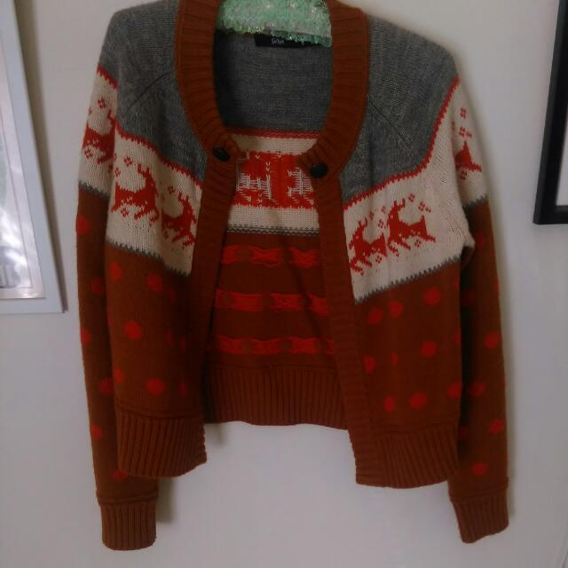 Sportsgirl Knitted Cardigan