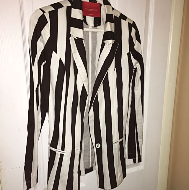 Striped Blazer SIZE SMALL
