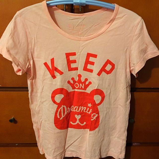 粉色T Shirt