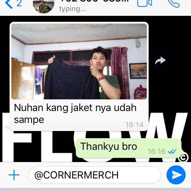 Testimonial Cornermerch. We Are Trusted Online Store!!👍🏻