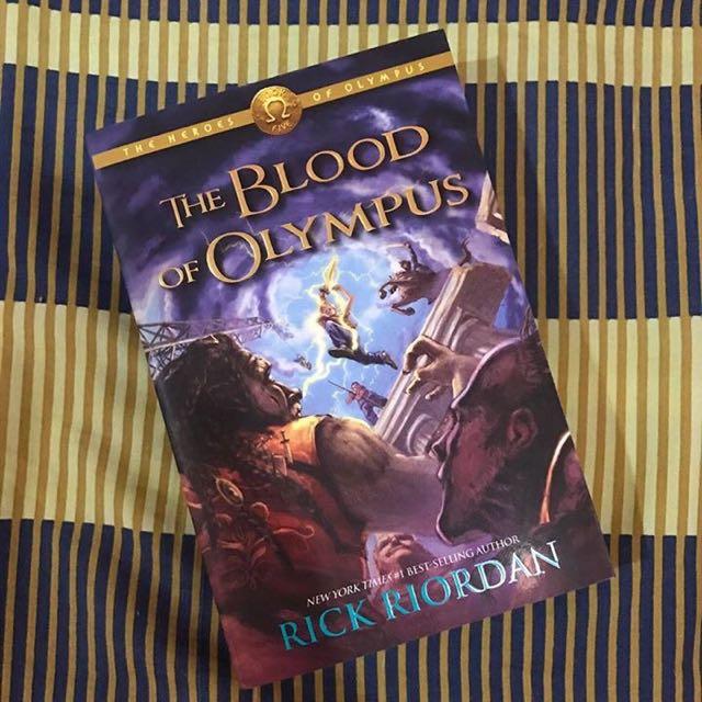 The Blood of Olympus (Rick Riordan)