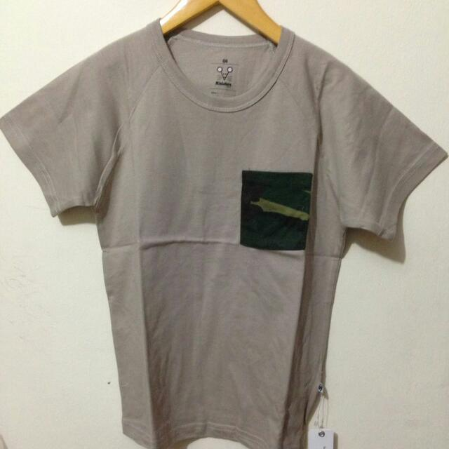 Tshirt Pocket Camo Miniature