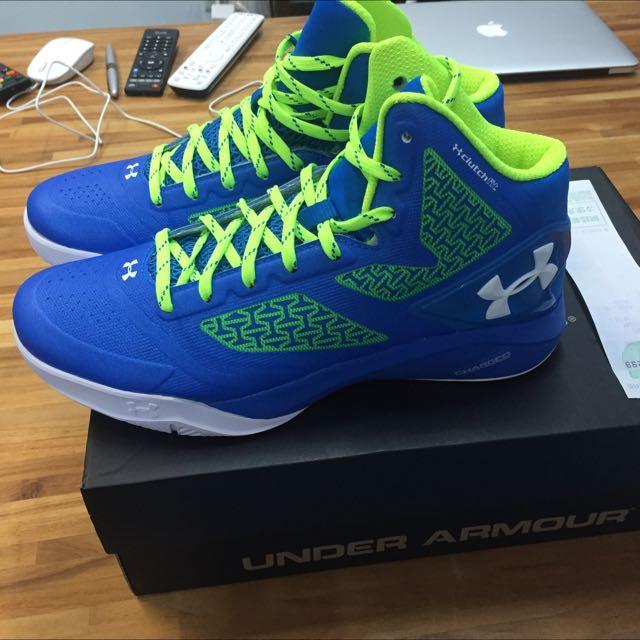 大降價(全新)UA Under Armour Clutch Fitdrive2 籃球鞋