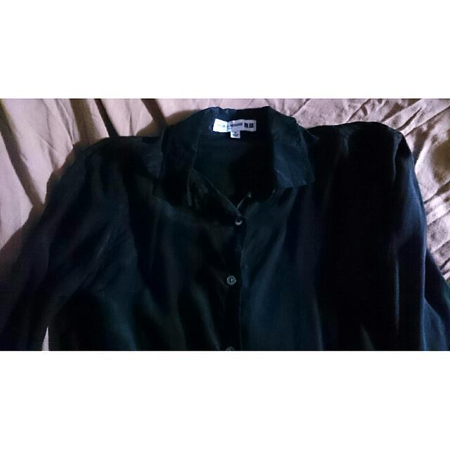 Uniqlo Long Sleeve Button Down