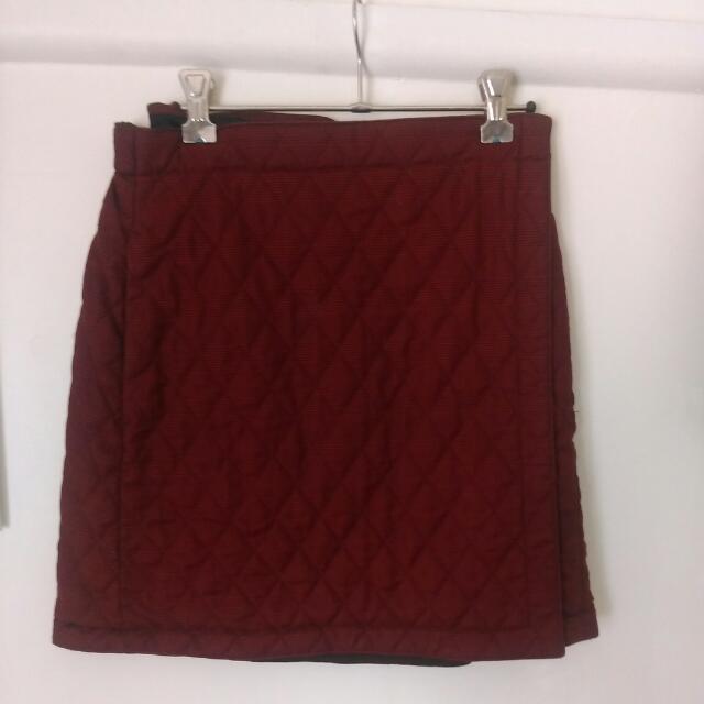 Uniqlo Winter Wrap Skirt
