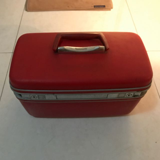 Vintage Samsonite Silhouette Makeup Box