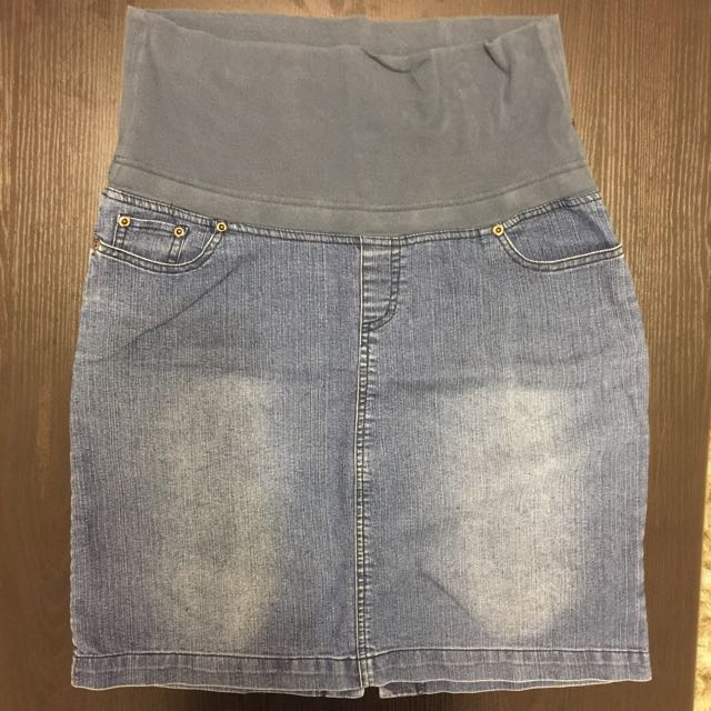 VogueinStyle Maternity Skirt Jeans, Size S