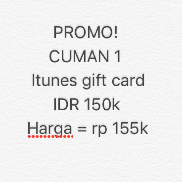 Jual iTunes Gift Card Indonesia / IGC Indo 250k. Source · photo photo photo