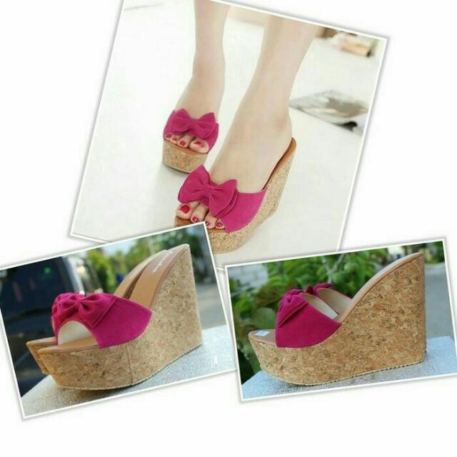Wedges Pita Pink
