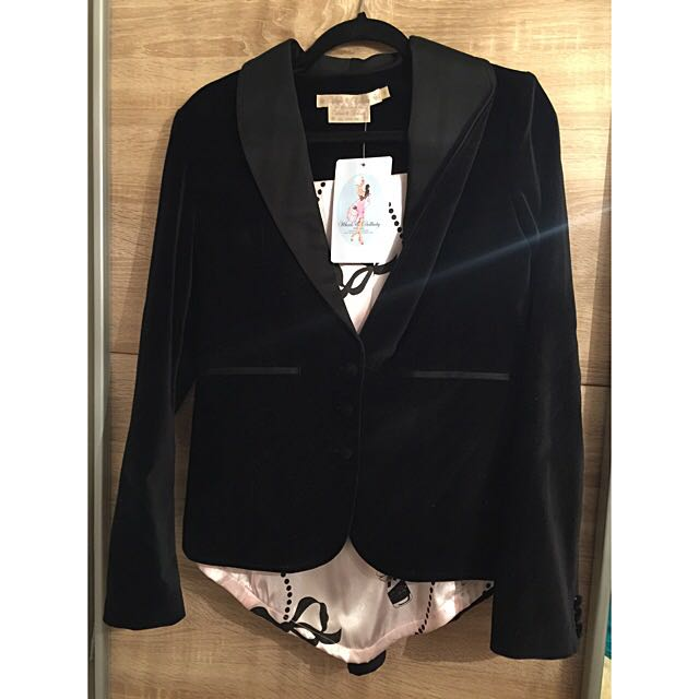 Wheels & Dollbaby Le Smoking Jacket Blazer