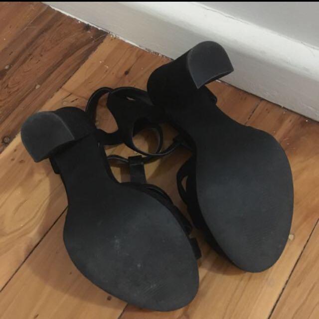 Wittner Heels Size 7