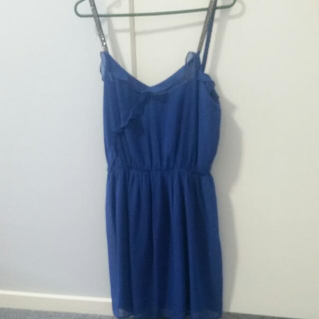 Zara Blue Size 10 Dress
