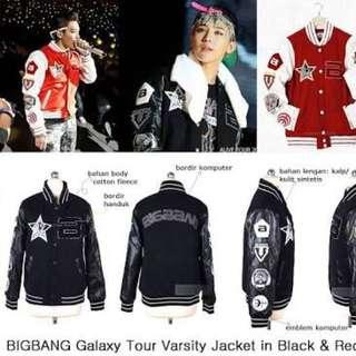 jaket bigbang (black)
