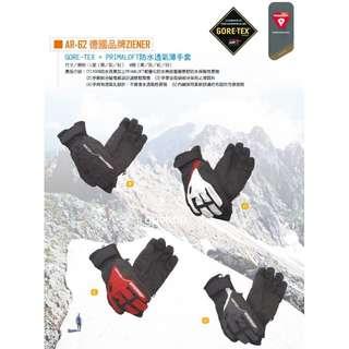 Snow Travel 雪之旅 AR-62 GORE-TEX+PRIMALOFT 防水透氣保暖手套