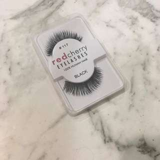 Red Cherry False Lashes