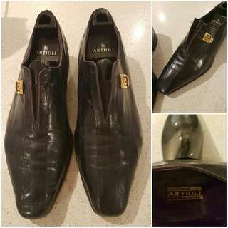 Artioli Genuine Leather Mens Shoes