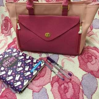 Gwinnette (pink) Shoulder Bag