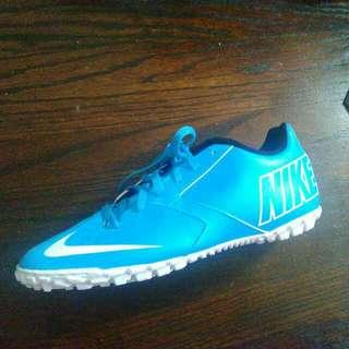 Light Blue Nike Indoor Soccer Cleats