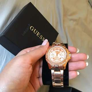 BRAND NEW GUESS ROSE GOLD WATCH
