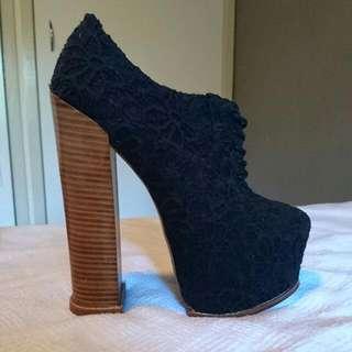 Platform Lace Up Heels
