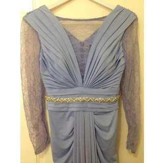 Customized Billini Bridesmaid Dress