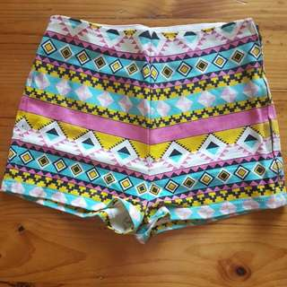 Colourful Hotpants