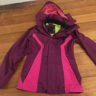 Women Snow Jacket Size Small