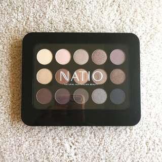Natio Natural Shades Eyeshadow Palette Golden