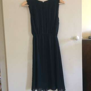 Vintage Black Sleeveless Dress