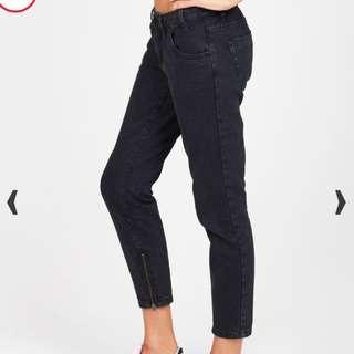 One Teaspoon Fox Black Freebird Jeans BNWT