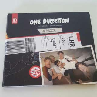 One Direction take me home limited edition version