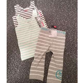 Bonds Singlets And Tights 6-12mths (0)