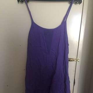 Minkpink Purple Dress M