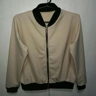 Bomber Jacket (Cream)