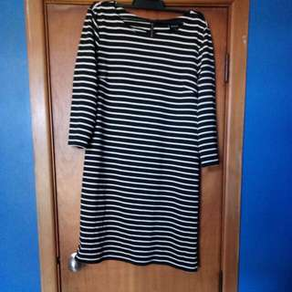 Striped Longsleve Dress