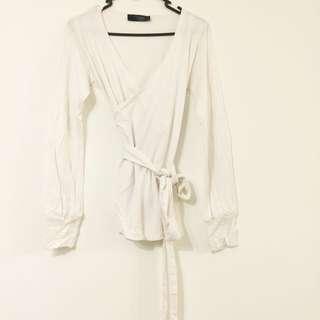 Maternity Cardigan White, Size XS