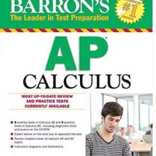 Barron's AP Calculus Prep Book